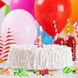 誕生日ケーキ 4歳