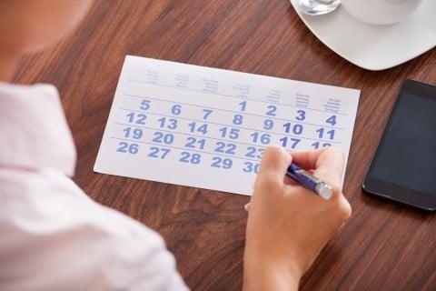 女性 カレンダー