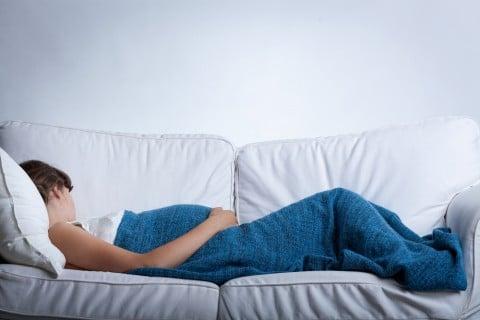 臨月 妊婦 寝る