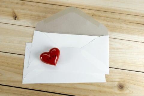 手紙 ハート