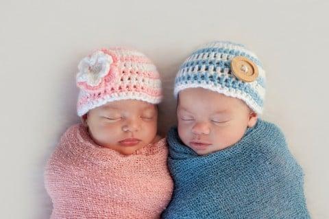 双子 赤ちゃん 男女