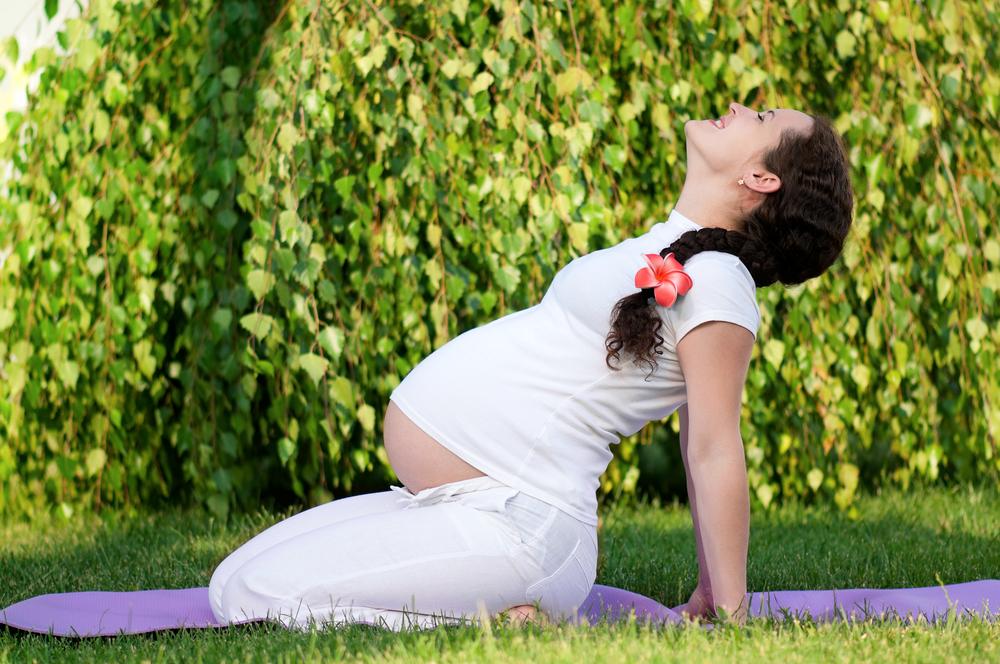 公園 妊婦