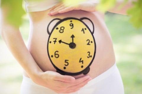 妊婦 計算 時計