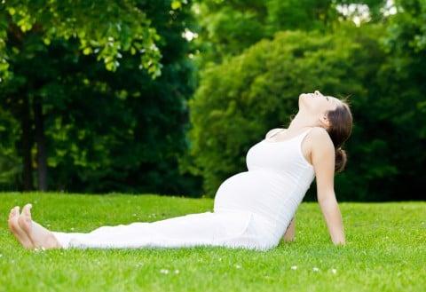 妊婦 外 リフレッシュ エクササイズ 逆子体操