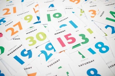 カレンダー スケジュール