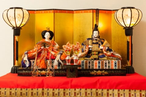 雛人形 雛祭り 姫 殿