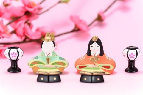 雛人形 雛祭り 梅 かわいい