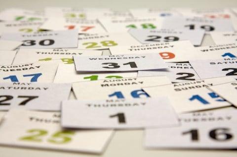 スケジュール カレンダー