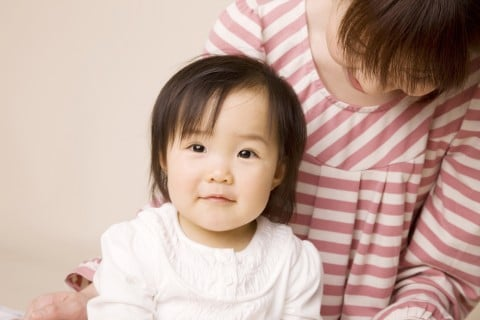 女の子 初節句 赤ちゃん ママ