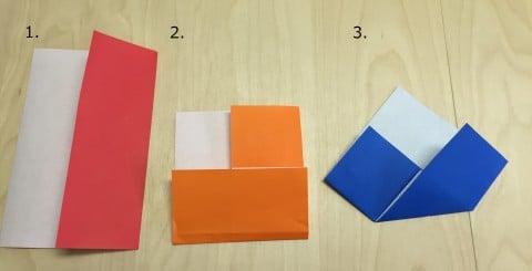 ひな祭り 折り紙 折り方
