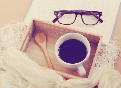 本 コーヒー めがね