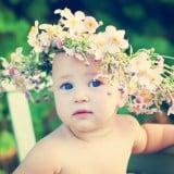 新生児 赤ちゃん 子供 名前 女の子 花 植物