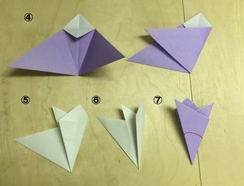 簡単 折り紙 折り紙 桃 : 192abc.com