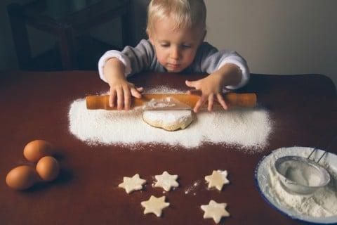 男の子 星 クッキー 手作り