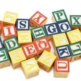 モノ おもちゃ アルファベット サイコロ
