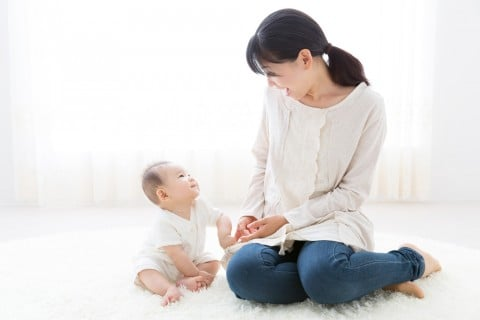 赤ちゃん ママ 日本人 コミュニケーション
