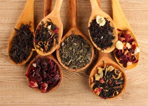 お茶 茶葉 たくさん 種類