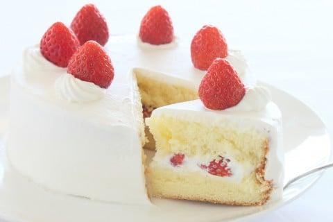 ショートケーキ ケーキ いちご