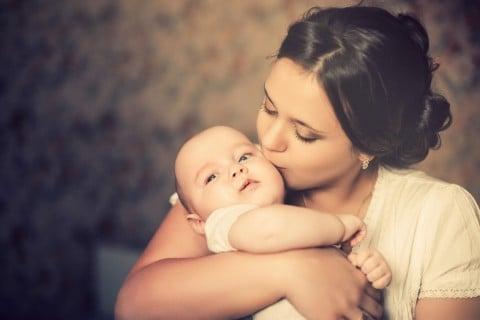新生児 ママ 母親 親子