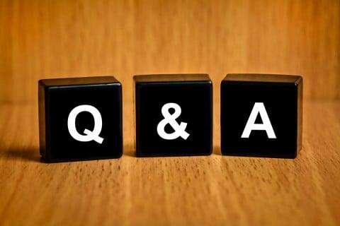 疑問 回答 Q&A 質問 答え