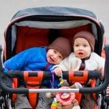 ベビーカー 双子 兄弟 二人乗り ベビーカー