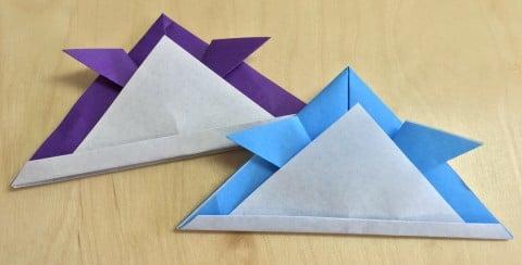 クリスマス 折り紙 兜 作り方 折り紙 : 192abc.com
