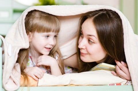 子供 ママ ベッド 仲良し