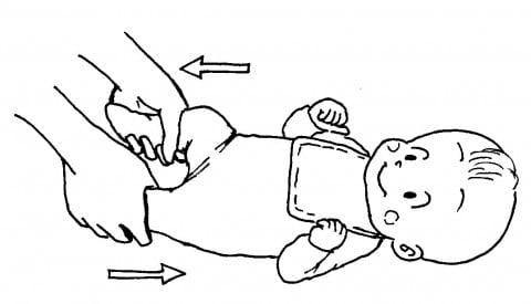 赤ちゃんの運動1