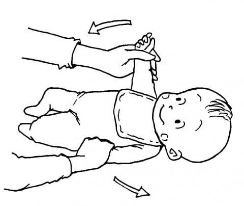 赤ちゃんの運動2