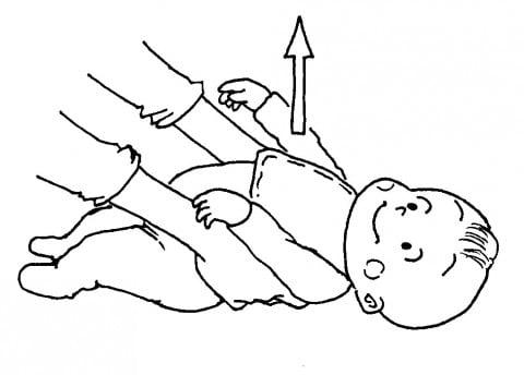 赤ちゃんの運動3