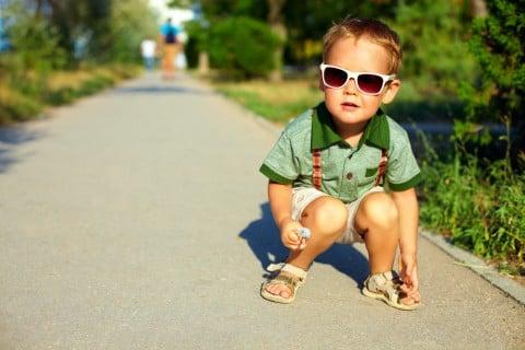赤ちゃん 子供 サンダル 外出 夏