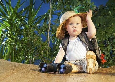 赤ちゃん 外出 紫外線対策