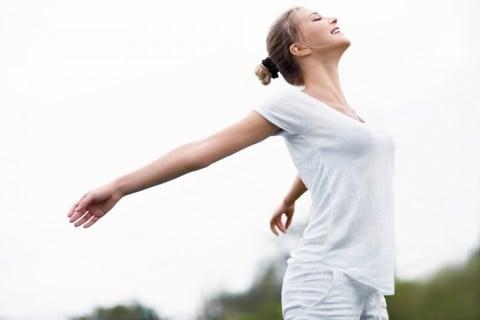 女性 ストレス解消 元気 健康