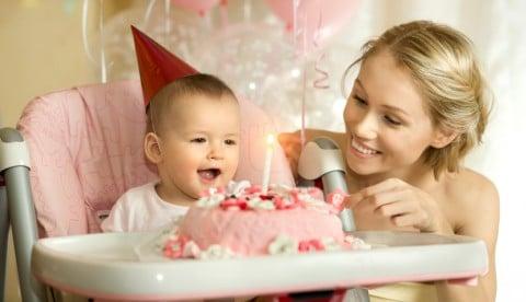 赤ちゃん 1歳 誕生日