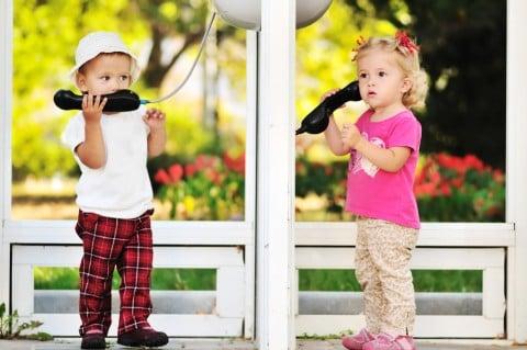 赤ちゃん 口コミ 会話 子供 電話