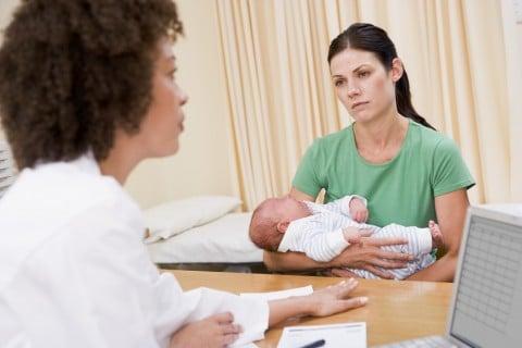新生児 赤ちゃん 病気 診察
