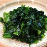 わかめ 海藻 ザル 食品 食材