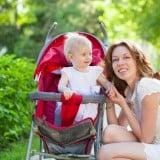 ベビーカー ママ 赤ちゃん