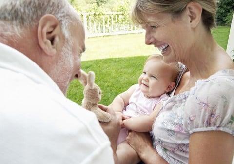 赤ちゃん 祖父母