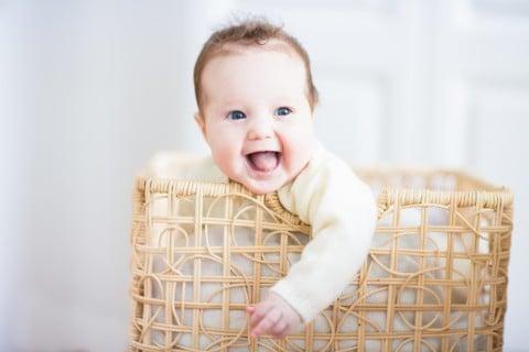 赤ちゃん 洗濯 かご