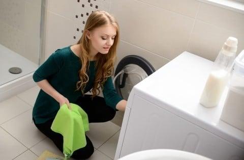ママ 女性 洗濯機 洗濯