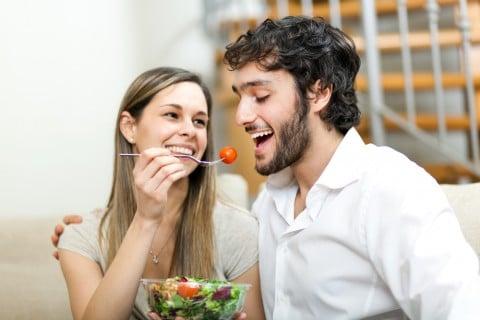 夫婦 カップル 食事