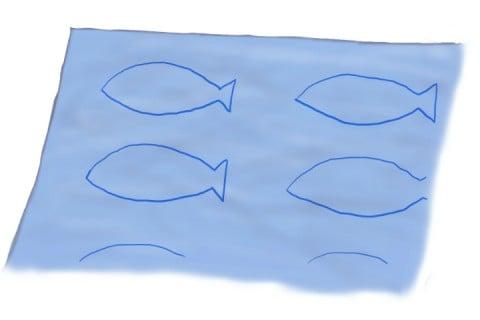 魚フェルト1