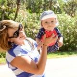 赤ちゃん 外出 野外 遊び 公園