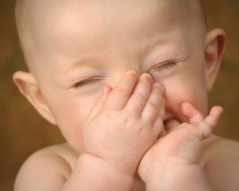 赤ちゃん 臭い 鼻