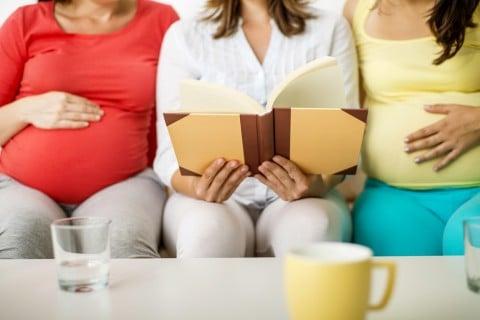 妊婦 会話 本