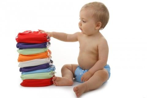 赤ちゃん 布おむつ