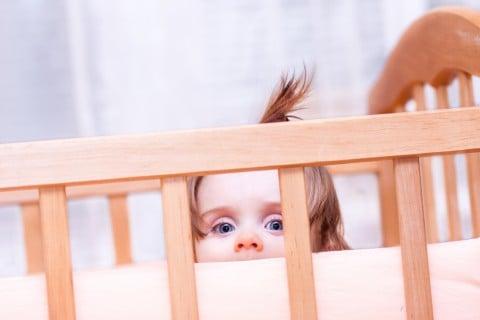 赤ちゃん ベビーベッド ガード