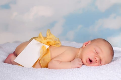 赤ちゃん プレゼント コウノトリ
