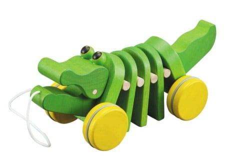 要出典 木のおもちゃ PLANTOYSプラントイ ダンシングアリゲーター